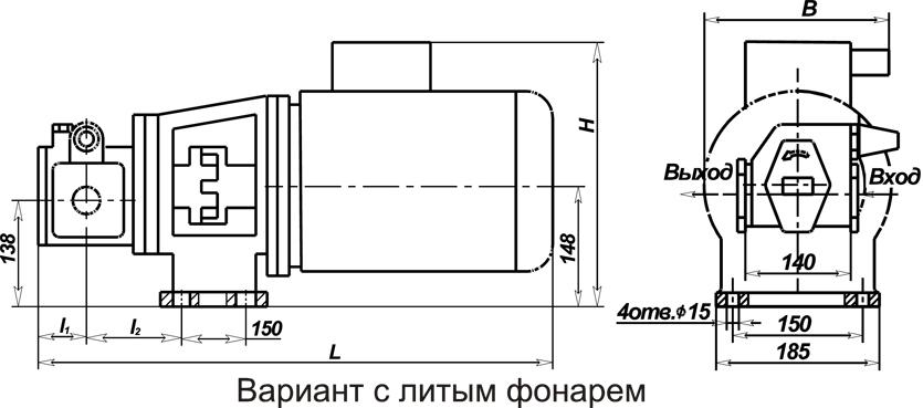 Насос НМШФ 2-40-1.6/16Б-13